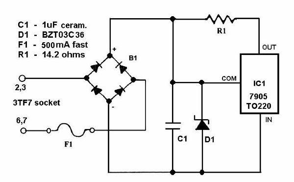 3tf7  tube 3tf7  r u00f6hre 3tf7 id19414  current regulator  iron