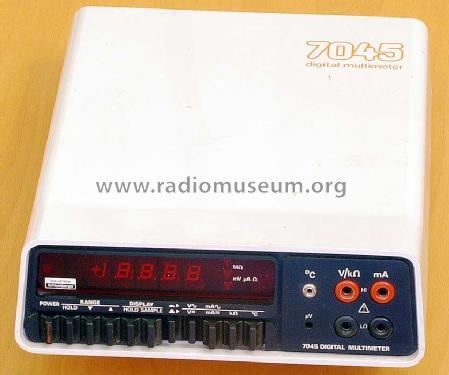 Solartron Digital Multimeter 7045 Equipment Schlumberger