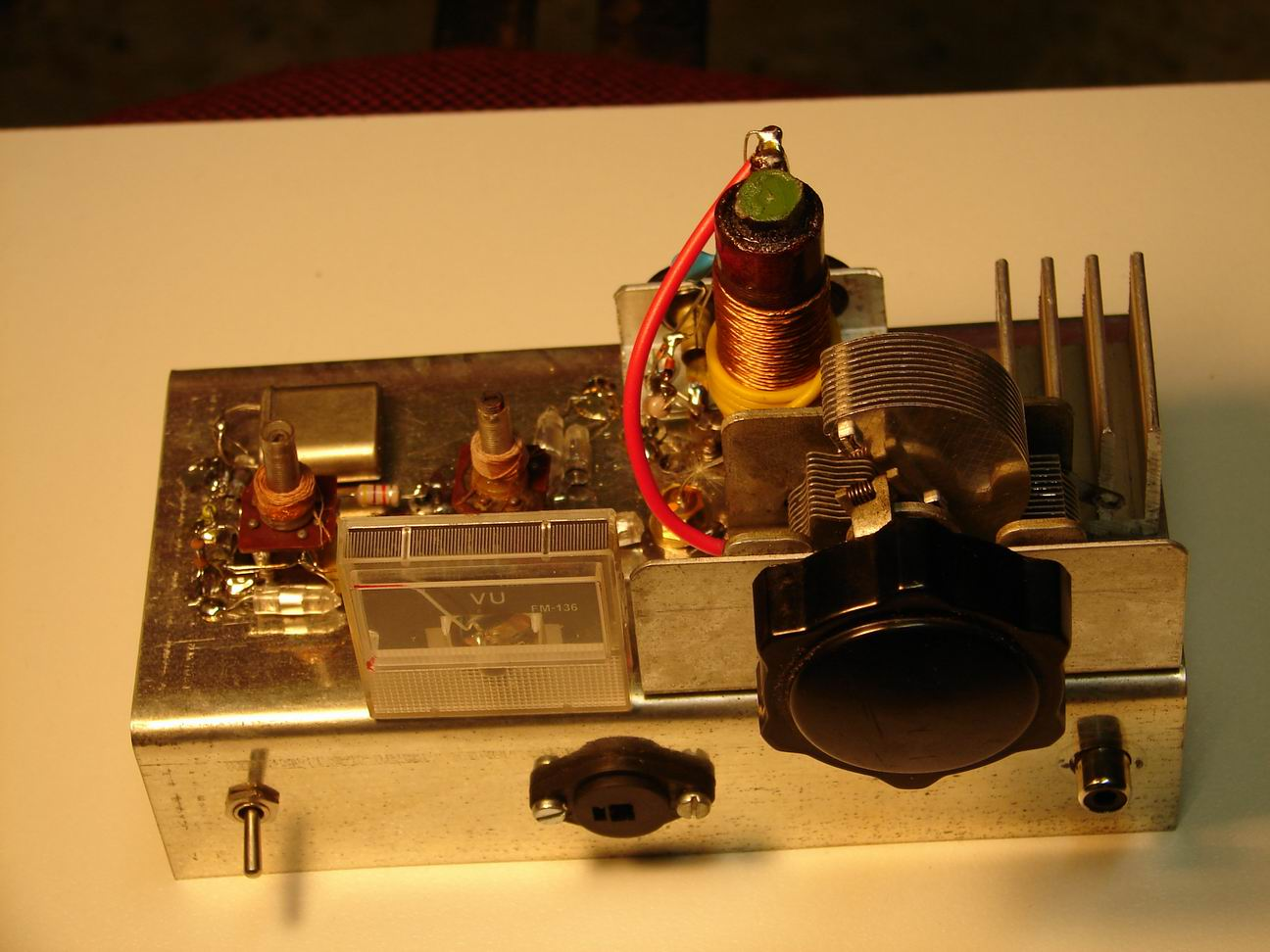 1 Watt Mw Transmitter To Broadcast Sgnal For Old Radios Circuit