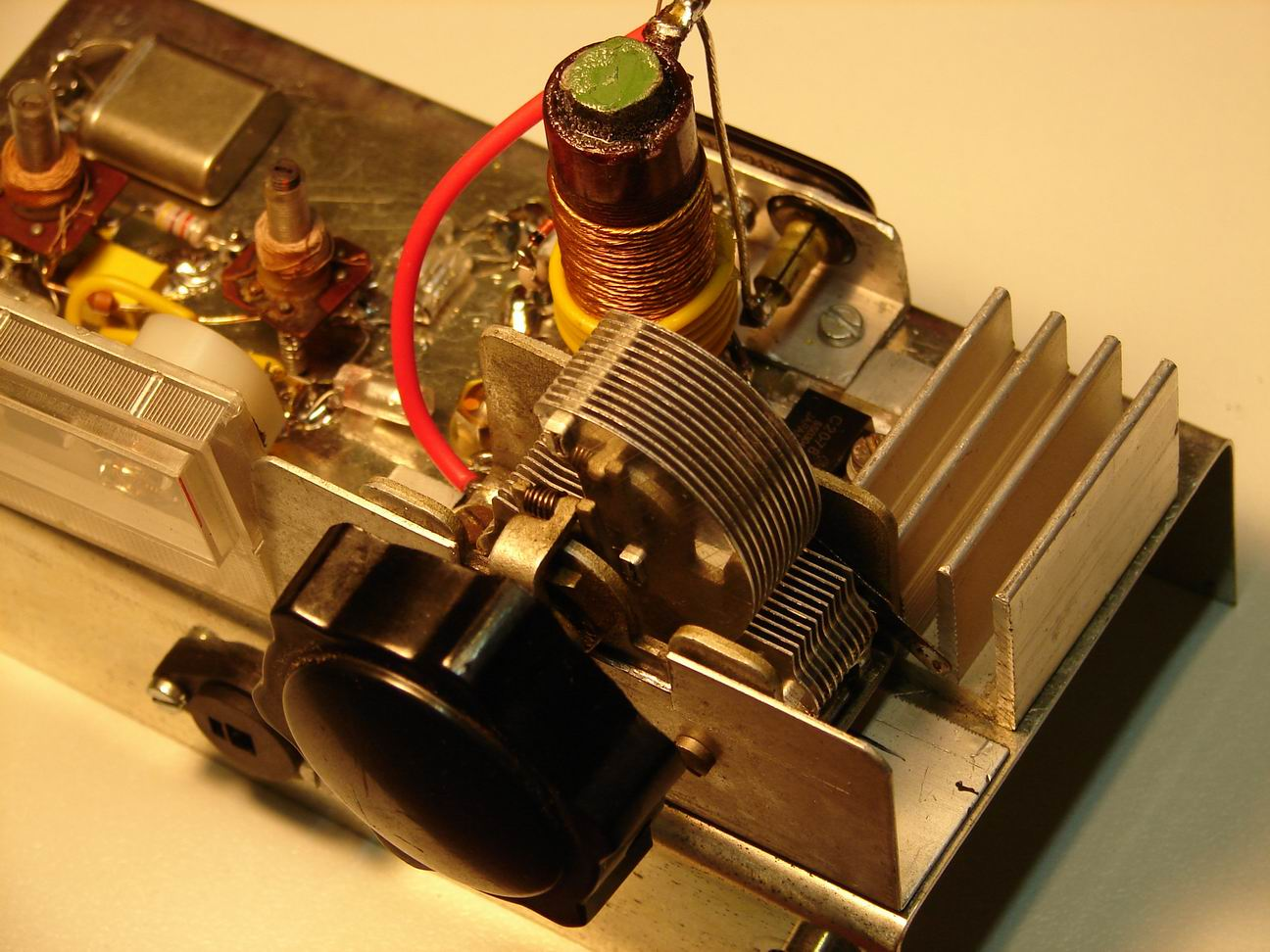 1 Watt Mw Transmitter To Broadcast Sgnal For Old Radios Tv Circuit