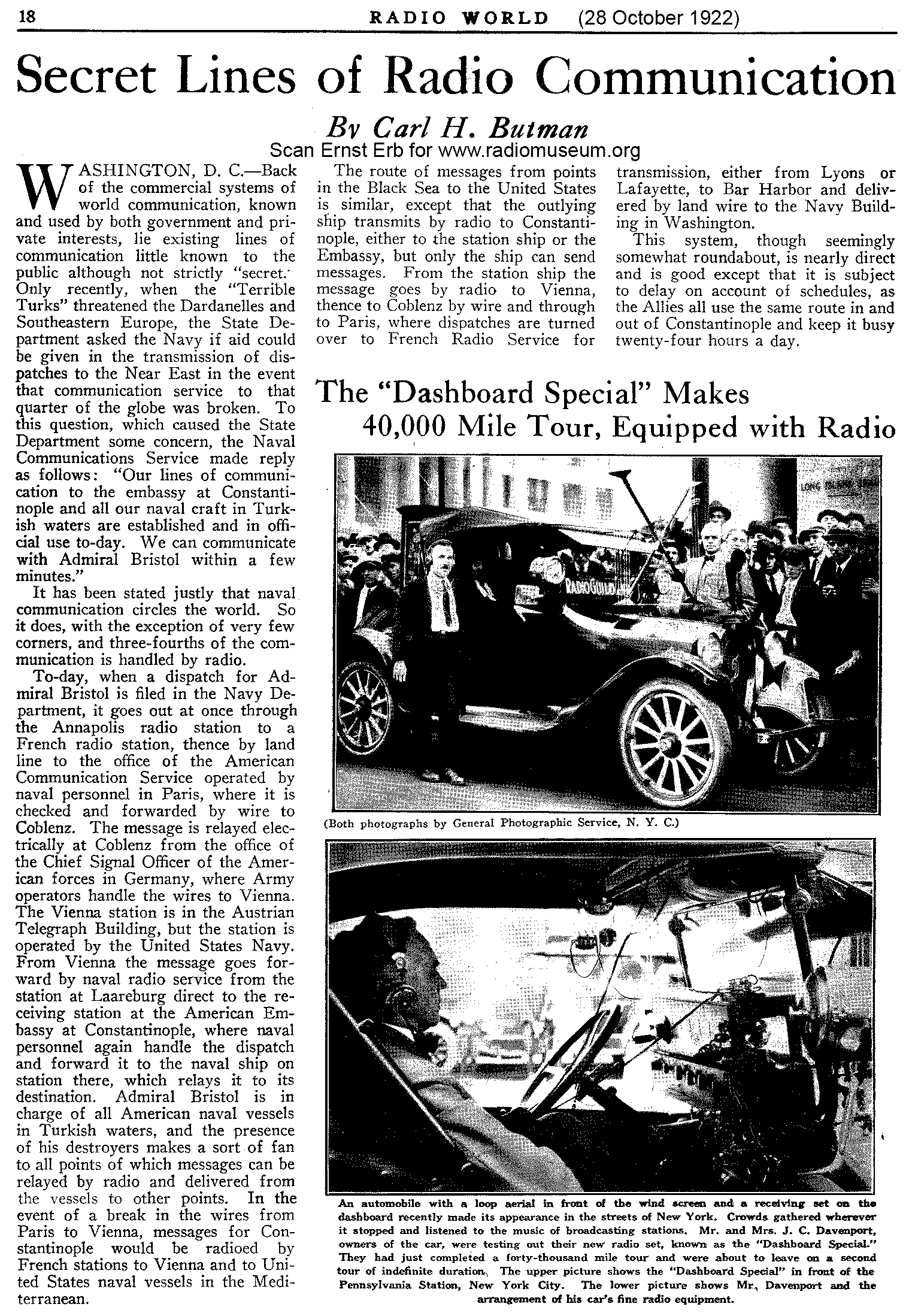 First Car radios-history and development of early Car Radios
