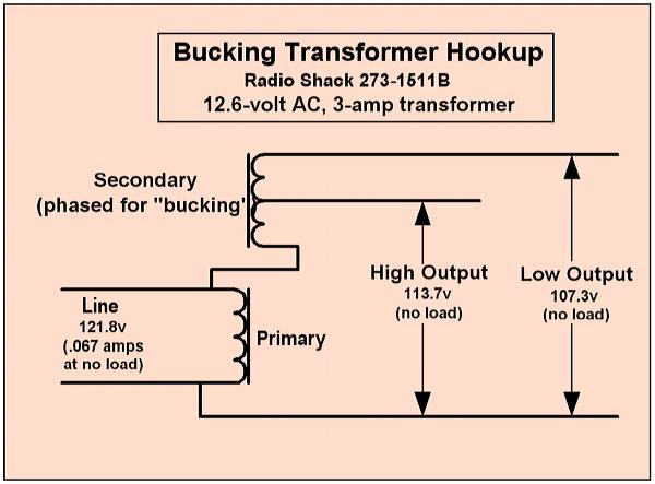 voltage requirements for vintage radios rh radiomuseum org Buck-Boost Transformer Installation Transformer Wiring Connections
