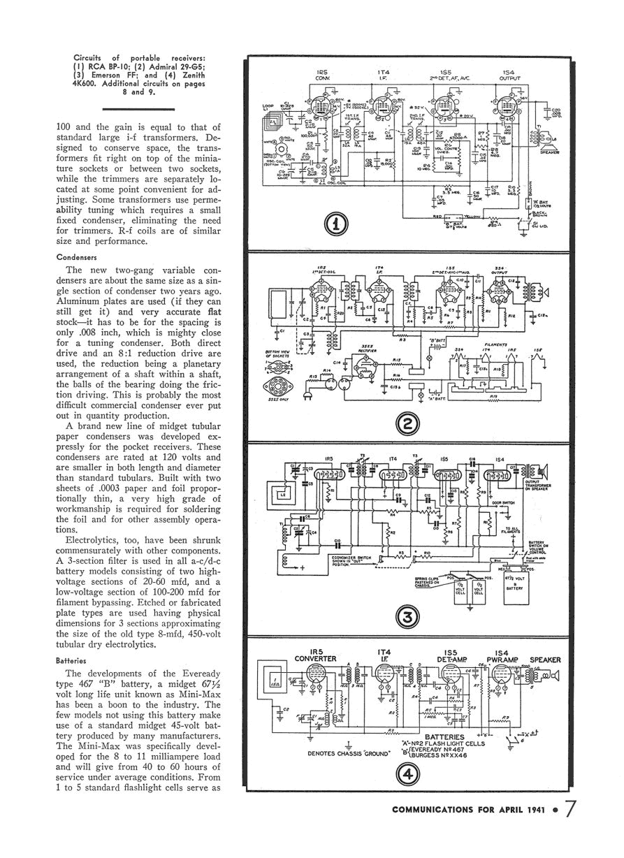 Bp 10 Personal Radio Rca Victor Co Inc New York Ny B 848 010 3 Ite Next Schematics On 9 Volt Battery Schematic Circuits Click Each Part Of Page Separately For Full Size Photos To Fit 200k