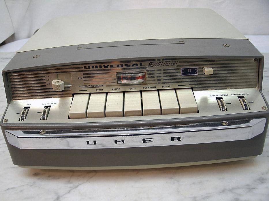 Uher royal de luxe tonbandger0e4t, 4 spur,stereo u mono,aluspule,viel