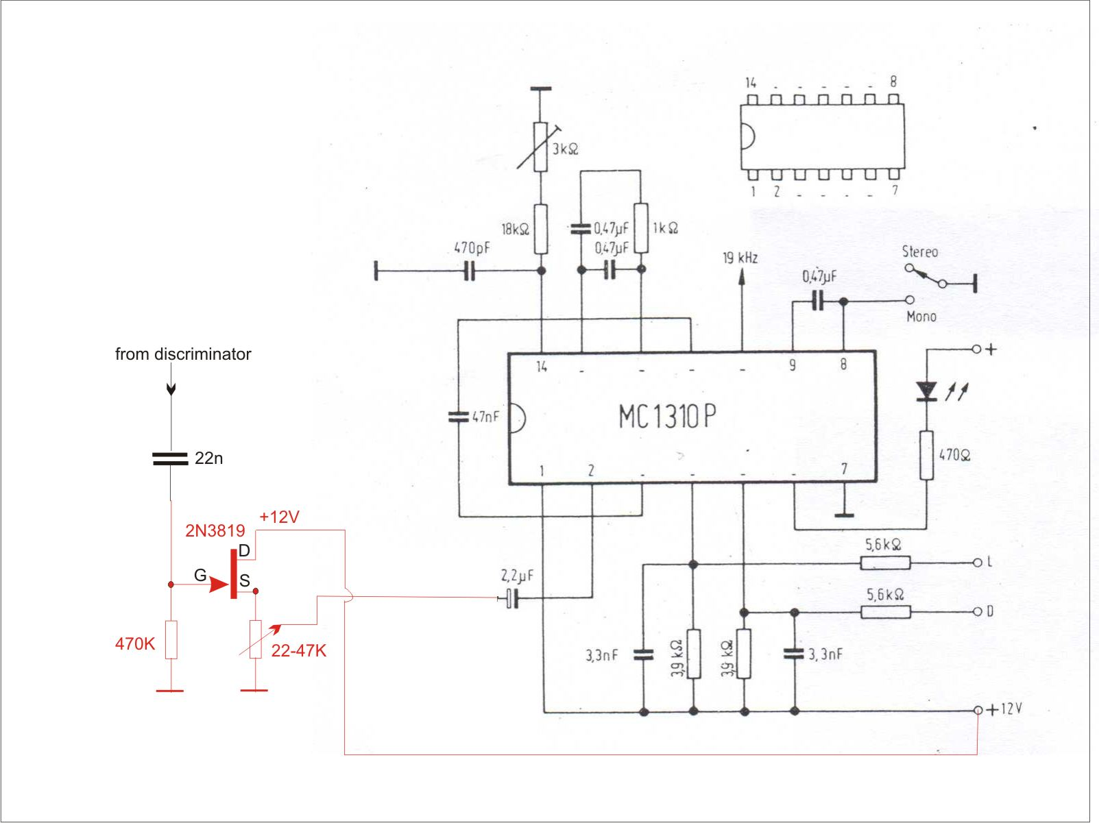 Putting In My Valve Radio A Stereo Decoder Fm Circuit