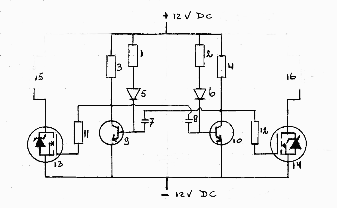 School Schematic 6v vibrator