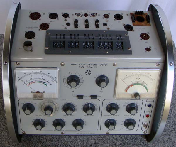Tube Tester AVO V C M  163 – Measurement Principle (revised)