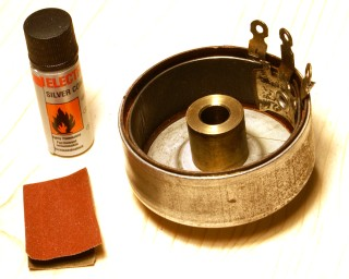 Repairing old potentiometers