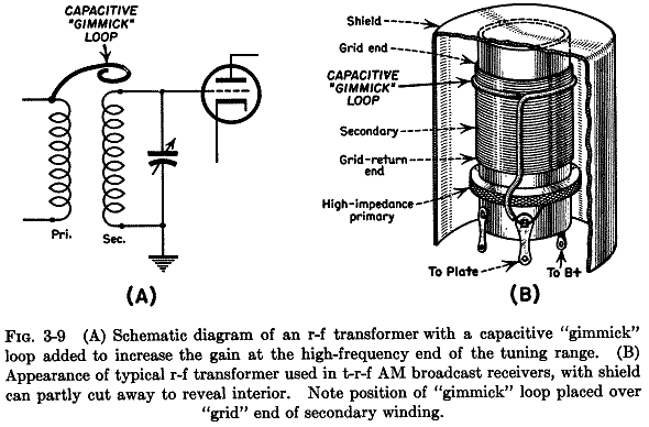 crystal radio schematic, transistor radio schematic, am radio circuit schematic, on trf radio schematics