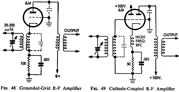 triode frequency conversion at fm