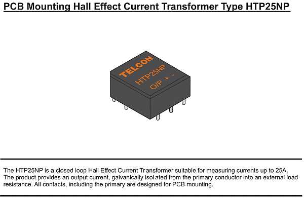 Hall-Effekt Stromwandler