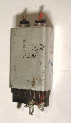 Philips 1950s mains Radio IFT. Similar to parts used in Kolster Brandes and Philips Valve Portables.