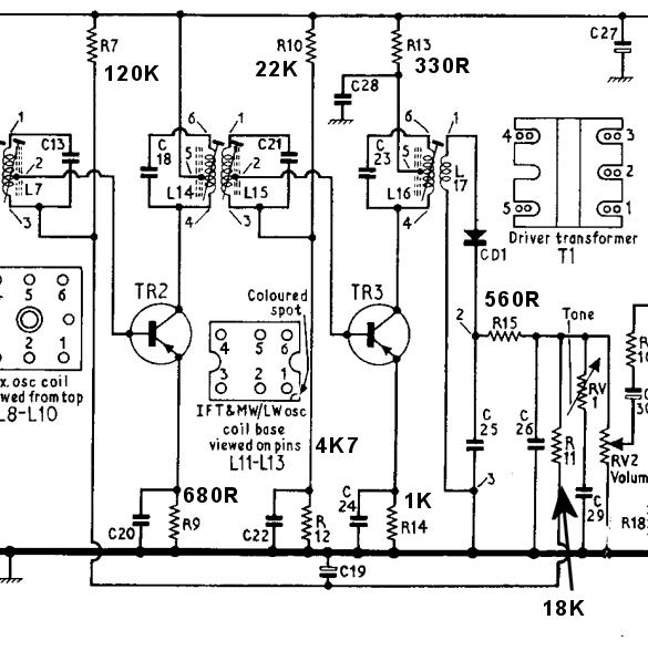 bush  tr130  dreaded af117 transistors