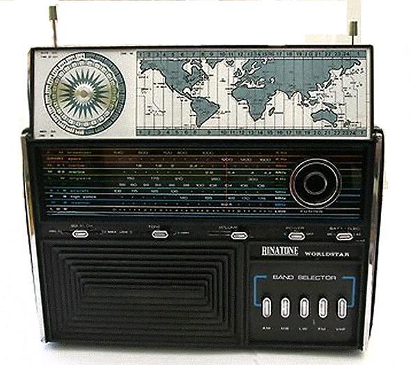Compass LW/MW/MB/FM/VHF Multiband Radio AA8 Radio Academy; w