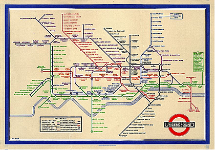 innovation: london underground map 1933