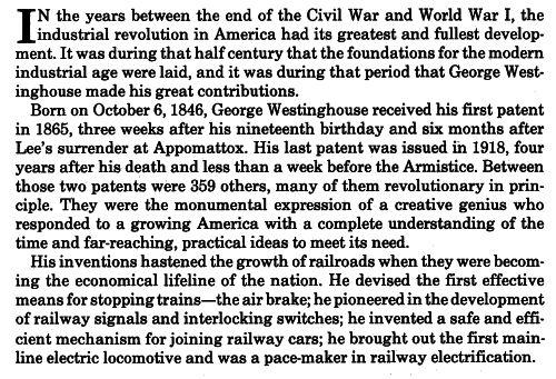 George Westinghouse 1846 1914