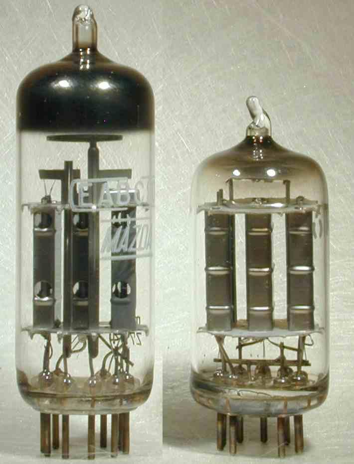 6ak8, tube 6ak8; röhre 6ak8 id19375, triple diode-triode.