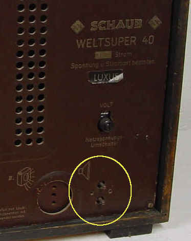 Weltsuper luxus 40w radio schaub und schaub lorenz build for Dieter schaub