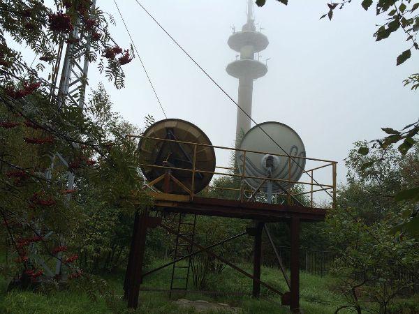 Richtfunkstation in zinnwald georgenfeld lugstein for Spiegel tv themen heute abend