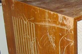 Holzoberfläche Regenerieren