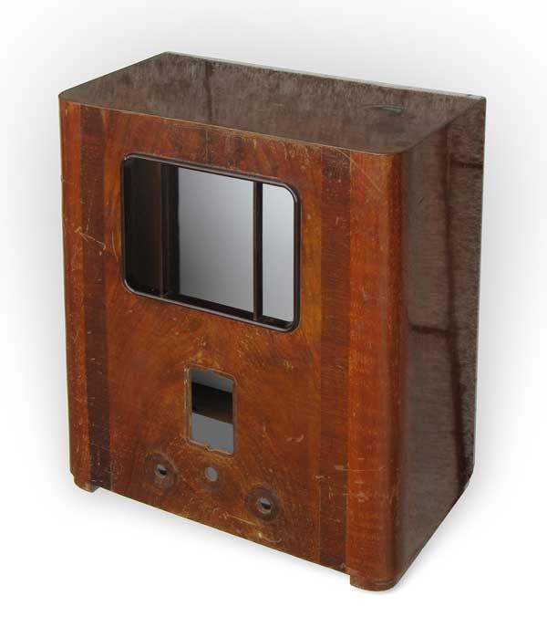 restauration eines geh uses mit brandfleck im furnier. Black Bedroom Furniture Sets. Home Design Ideas