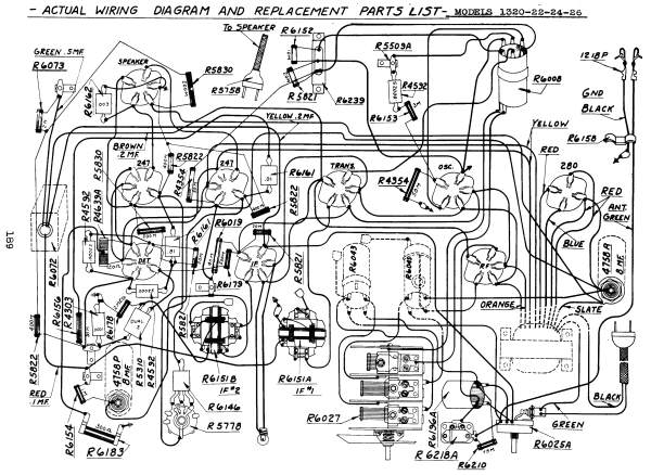 sears, roebuck & co ; chicago manufacturer in usa, model typ Jbl Wiring Diagram the original schematic (page 186) shows a cathode mixer, a revised schematic (page 188) a grid mixer plus small other differences Pressure Switch Wiring Diagram