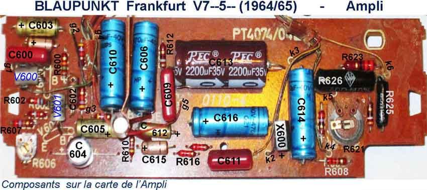 ampli Blaupunkt Frankfurt 'V'