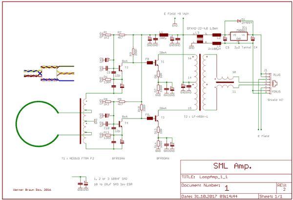 richtige Ferritkerne für Loop-Antennenverstärker