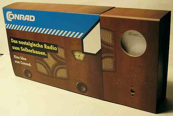 retro mittelwellen radio bausatz 2008 kit conrad electronic. Black Bedroom Furniture Sets. Home Design Ideas