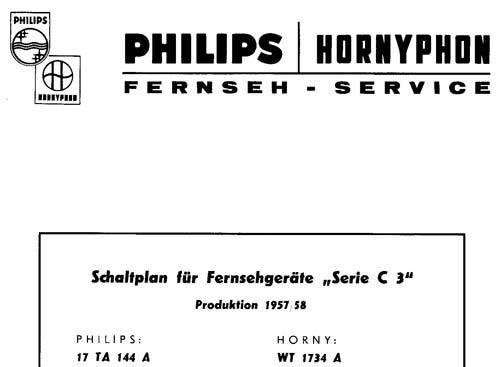 Herr Scheida, zumindest beim Philips Chassis C3 (17TA144A) ist das erste Herstellungsjahr der DY87 das Jahr 1957.
