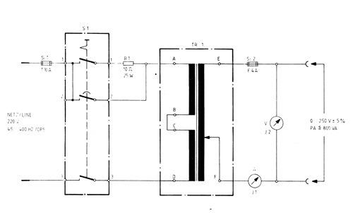 Trenntransformatoren, Einschaltstrom