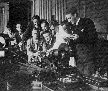 Walter Bruch's engineers education at high school in Mittweida Sachsen Germany 1920's