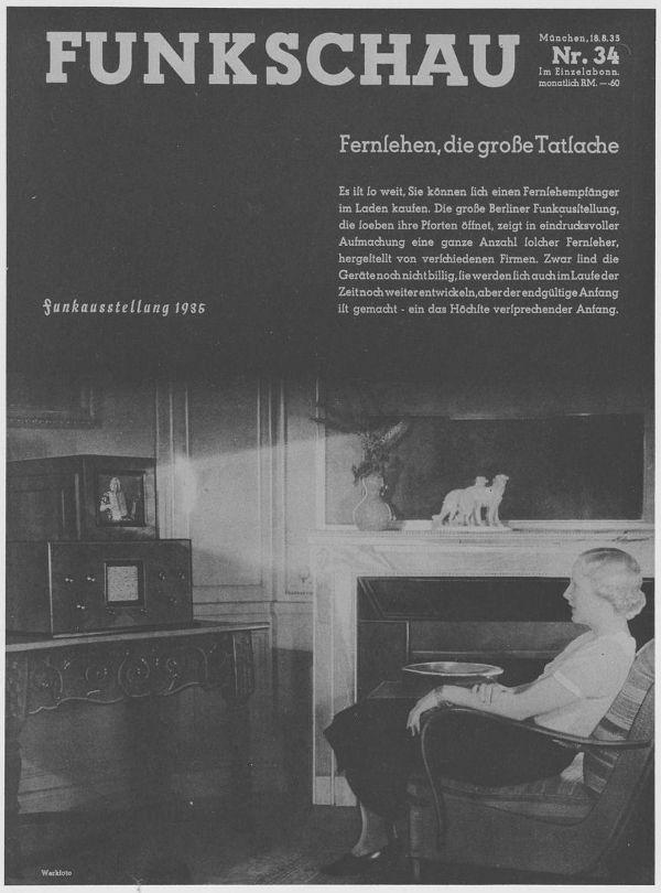 80 jahre fernsehen in deutschland. Black Bedroom Furniture Sets. Home Design Ideas