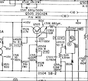 KV-1310E Ch= SCC-51A-A Television Sony Corporation; Tokyo, b