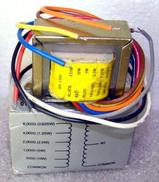 70V_Line_Matching_Transformer_SPECO_5 audio transformer substitutes 70 volt speaker transformer wiring diagram at gsmx.co