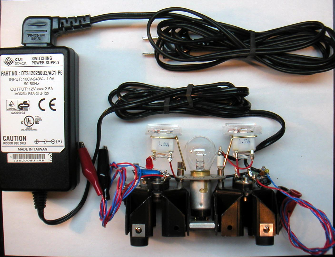 Circuit Of The General Purpose Charger I Use To Charge All The Packs