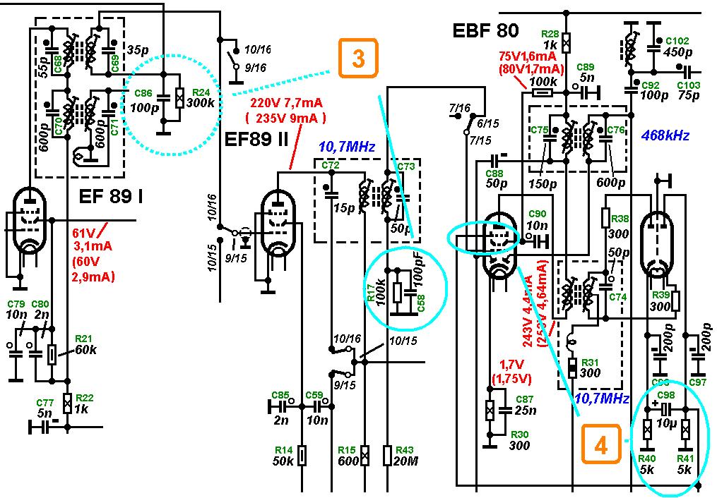 philips tv circuit diagram ireleast info grundig 5040w 3d circuitry analysis part 4 wiring circuit