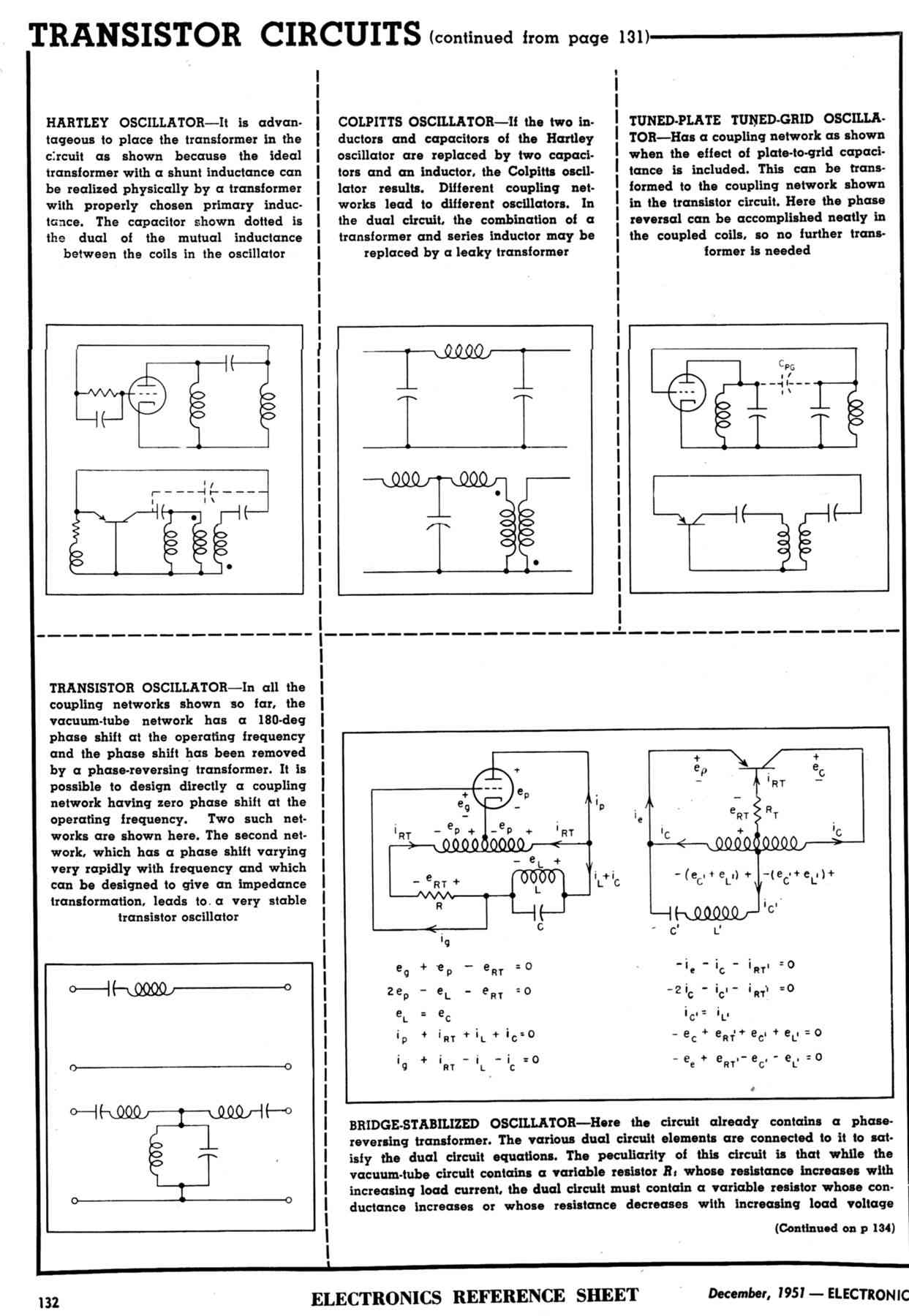 Early Transistor Days Oscillatorcircuit Theoscillatorusingfettubeandtransistorhtml Editors Interviewed About Pricing And Availability Of Transistors The Six Larger