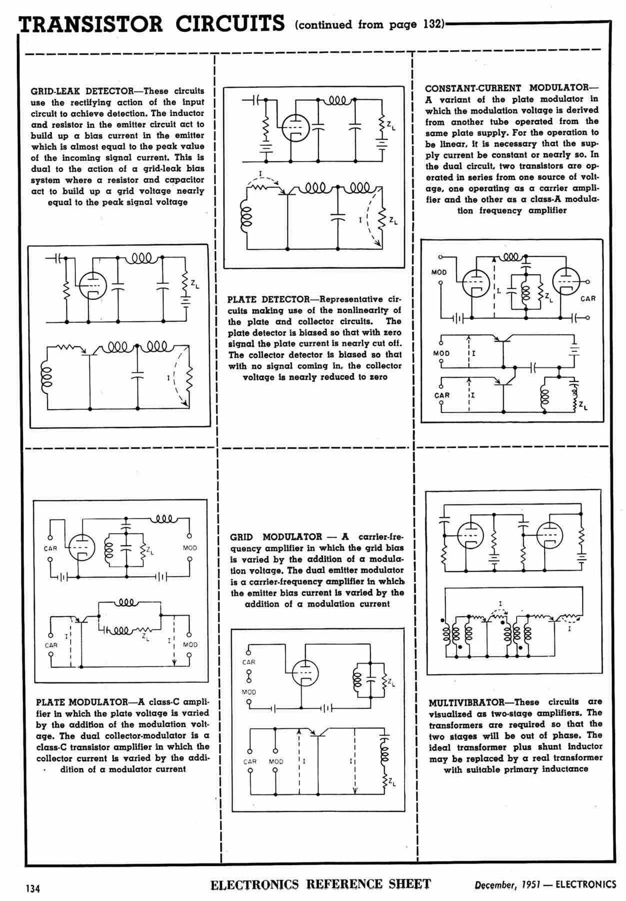 Early Transistor Days Amplifier Circuit Design Editors Interviewed About Pricing And Availability Of Transistors The Six Larger