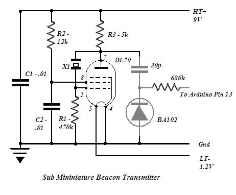 Project: A Simple Morse Code Beacon Transmitter
