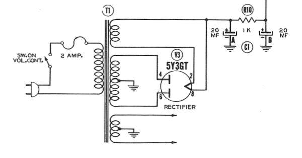 rca: r17; radiola 17 32cc fountain center console wiring diagram vintage silvertone console wiring diagram #8