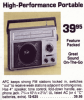 Realistic 12-625; Radio Shack Tandy, (ID = 1319000) Radio