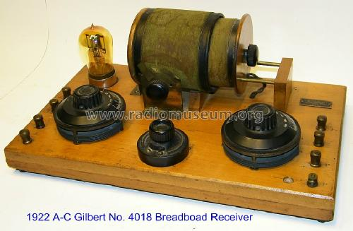 1-Tube Breadboard Receiver No. 4018; A-C Gilbert Co.; New (ID = 1488791) Radio