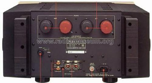 class a stereo power amplifier a 50v ampl mixer accuphase la. Black Bedroom Furniture Sets. Home Design Ideas
