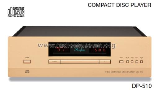 Compact Disc Player DP-510; Accuphase Laboratory (ID = 2083428) R-Player
