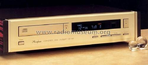 Compact Disc Player DP-60; Accuphase Laboratory (ID = 677111) R-Player