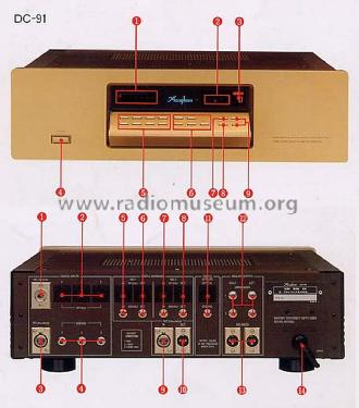 DC-91; Accuphase Laboratory (ID = 1772462) Ampl/Mixer