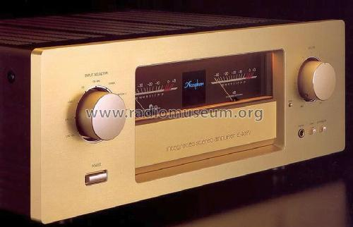 Integrated Stereo Amplifier E-406V; Accuphase Laboratory (ID = 677503) Ampl/Mixer