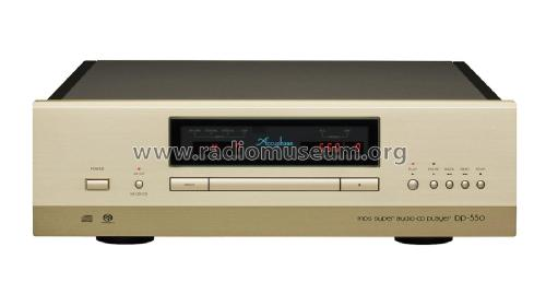 MDS Super Audio Compact Disc Player DP-550; Accuphase Laboratory (ID = 2083187) R-Player