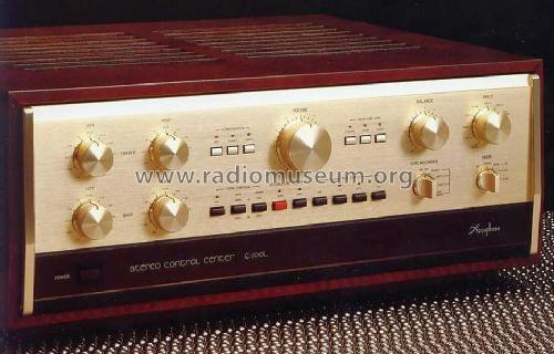 Stereo Control Center C-200L; Accuphase Laboratory (ID = 675745) Ampl/Mixer